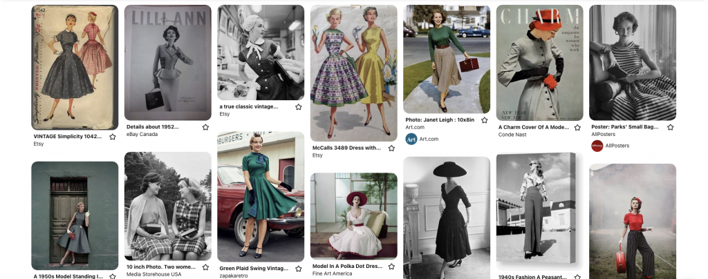 50s fashion looks pinterest