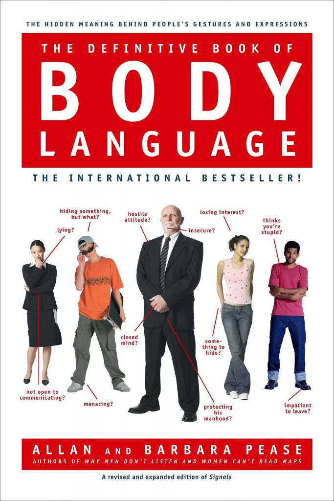 self-help books college age students The Definitive Book of Body Language by Allan Pease