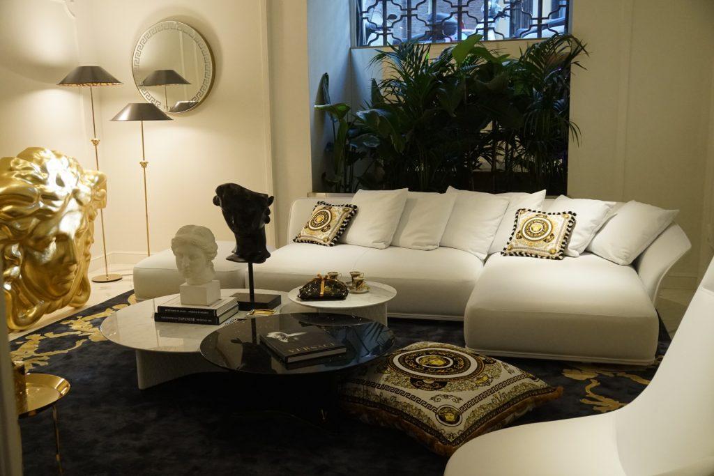 Versace Showroom Milan design week 2021 supersalone salone del mobile milano