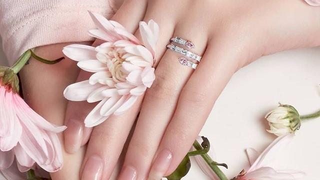 astteria pink diamond engagement rings