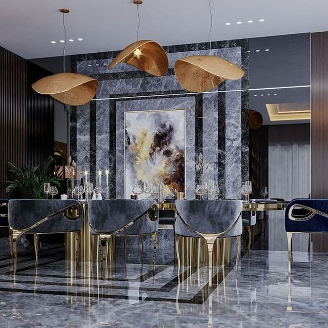 Interior by K.A | Interior Design featuring Chandra Chairs by KOKET