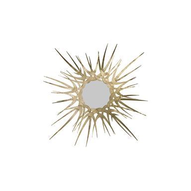 sunburst gold mirror luxury wall art koket my object of desire