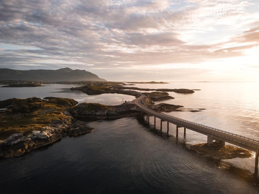 best most beautiful road trips in the world The Atlantic Road, Norway