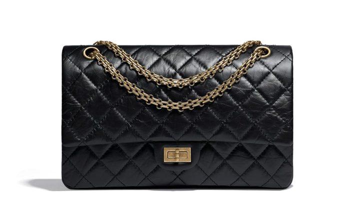 most iconic fashion pieces chanel 2-.55 handbag-black-aged-calfskin-gold-tone-metal-aged-calfskin-gold-tone-metal