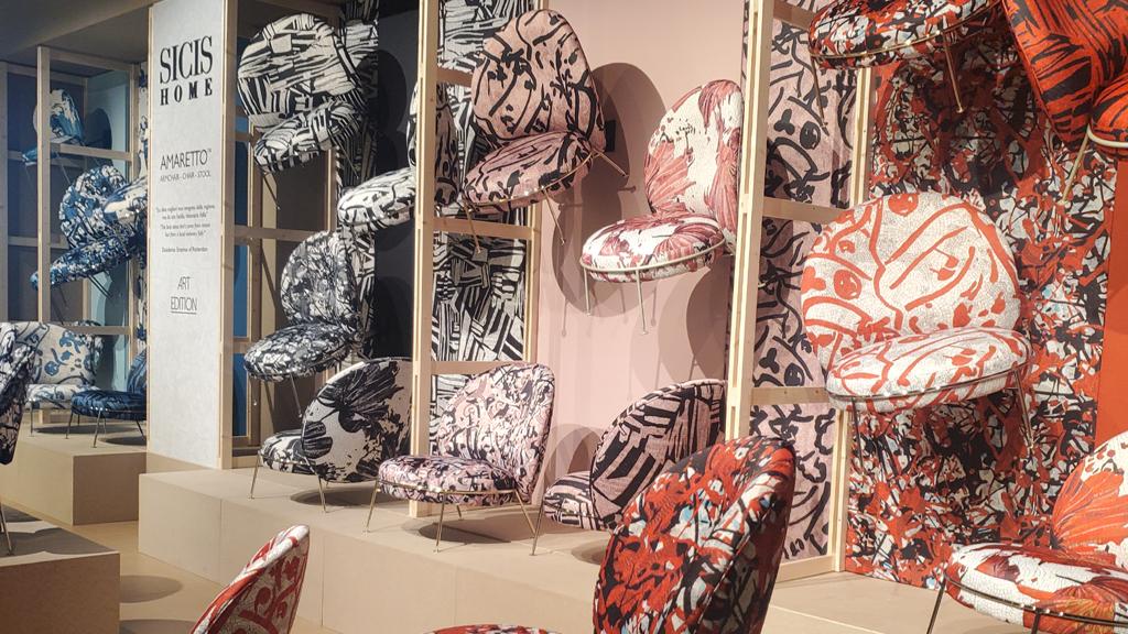 SICIS Home x Amaretto textiles