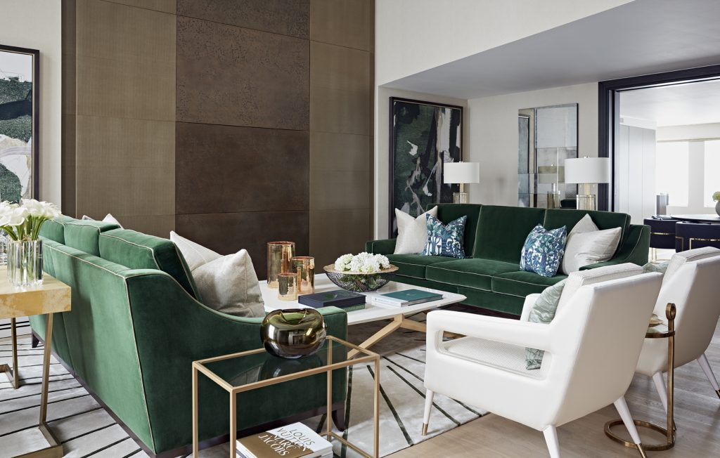 luxury living room design by taylor howes