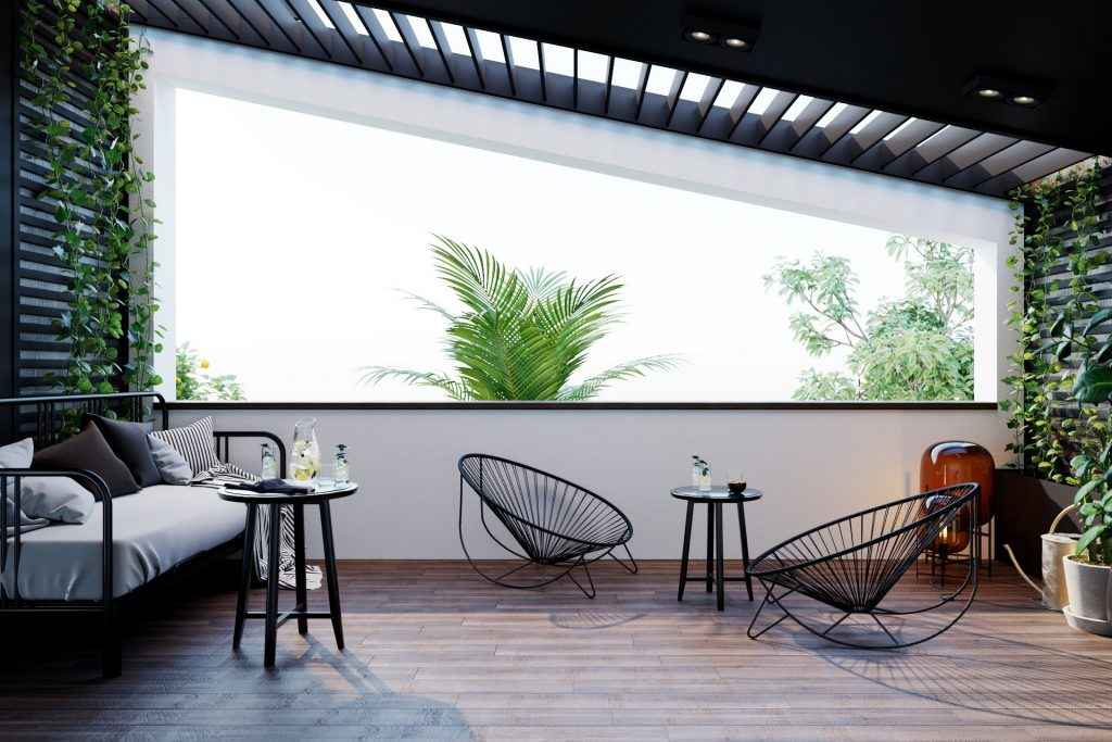 terrace designed by Inspired® glancing eye design co