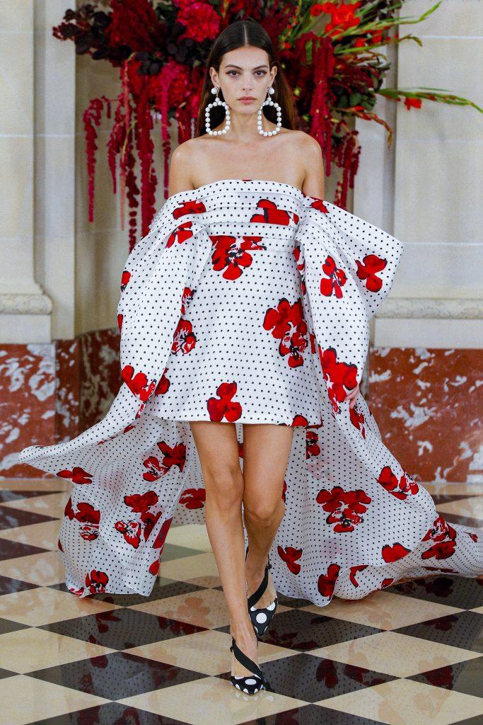 Carolina Herrera Spring Summer 2022 New York Fashion Week on September 9, 2021 in New York City. (Photo by Victor VIRGILE/Gamma-Rapho via Getty Images)