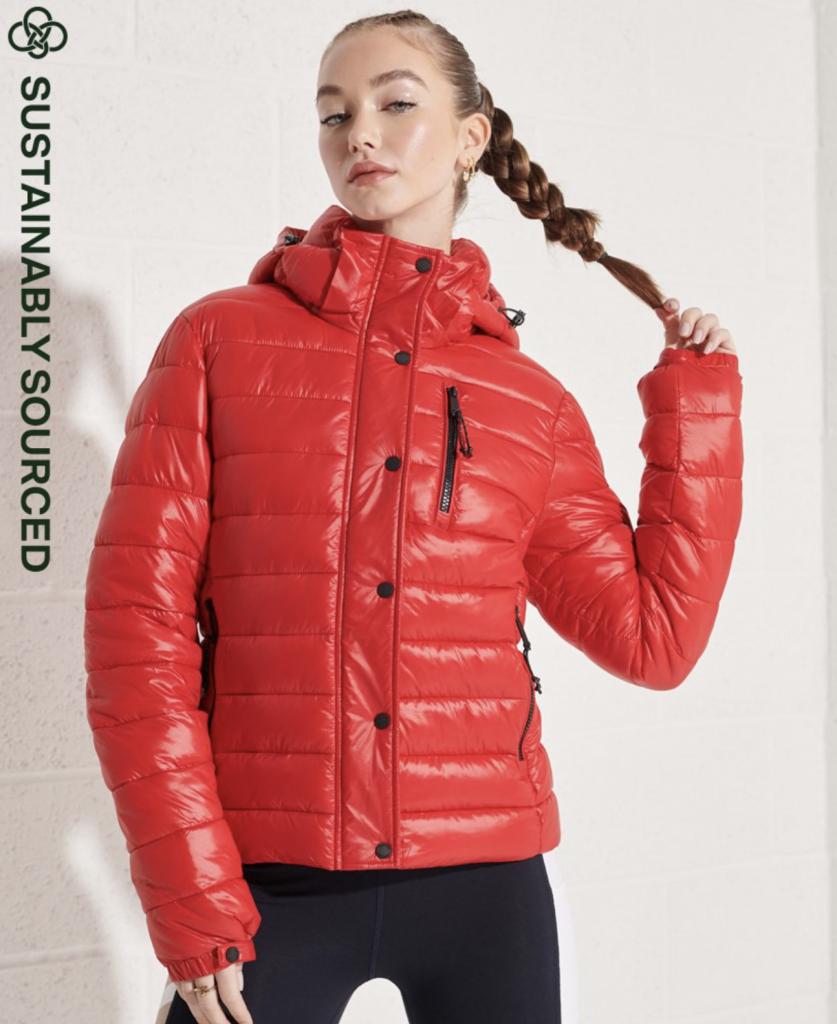 Shine Fuji 2.0 Jacket superdry eco friendly sustainable puffer coat
