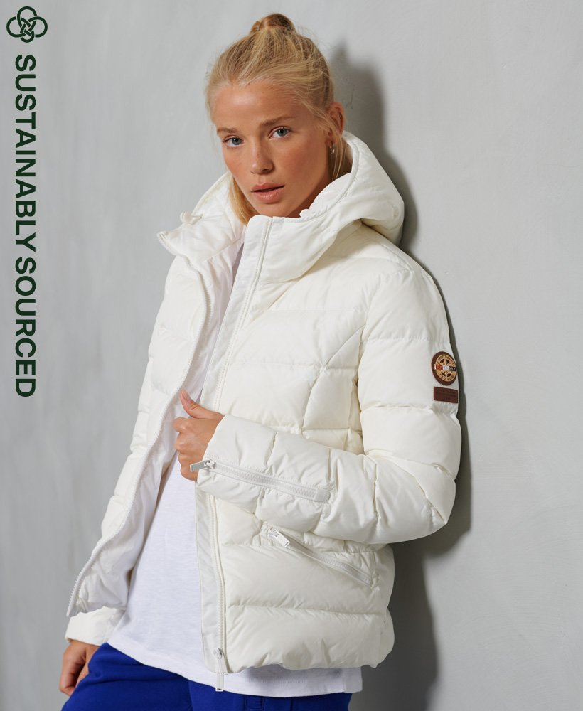 Premium Down Luxe Quilt Jacket